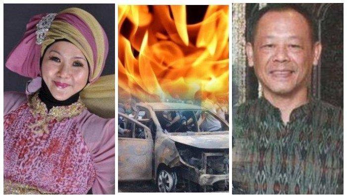 Aulia Kesuma, istri pembakar jenazah Pupung Sadili dan M Adi Pradana, suami dan anak tirinya