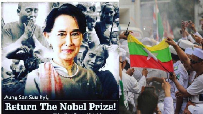 Dapat Tekanan dan Cacian Internasional Terkait Rohingya, Aung San Suu Kyi Balik Menuding!