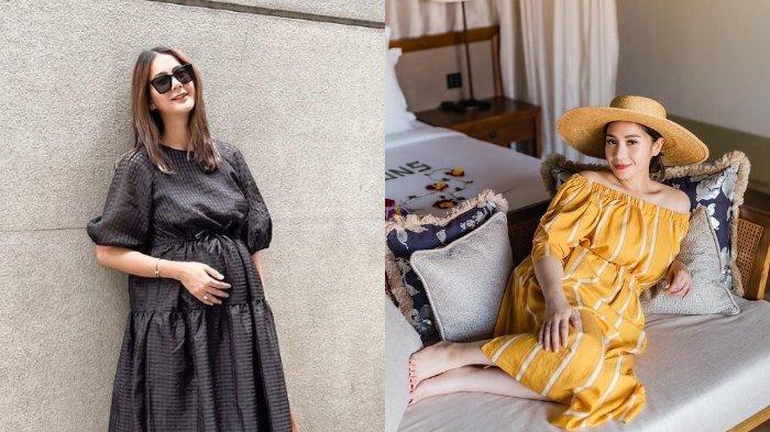 Nagita Slavina hingga Paula Verhoeven, Aura Cantik Artis lagi Hamil, Intip Baby Bump Mulai Terlihat