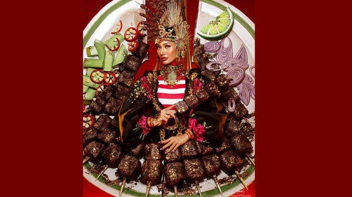 Kostum Satenya Viral, Siapa Aura Kharisma? Simak Profil Wakil Indonesia di Miss Grand International