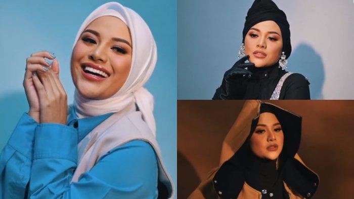6 POTRET Aurel Jalani Photoshoot Pertama dengan Hijab, Istri Atta Luwes Berpose, Intip Gayanya!