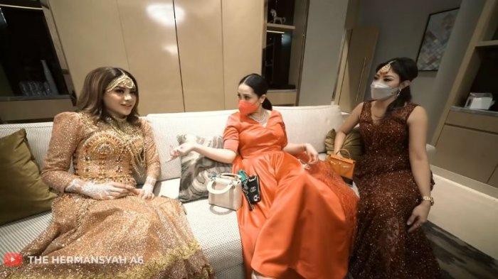 Aurel Hermansyah, Nagita Slavina, dan Ayu Dewi
