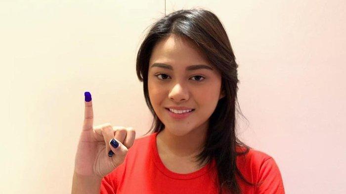 Jadi Pemilih Pemula Pemilu 2019, Aurel Hermansyah Sempat Bingung Cara Mencoblos DPRD