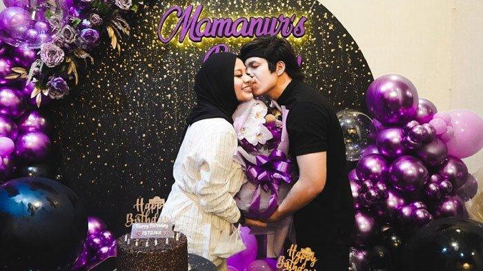 Momen ulang tahun ke-23 Aurel Hermansyah