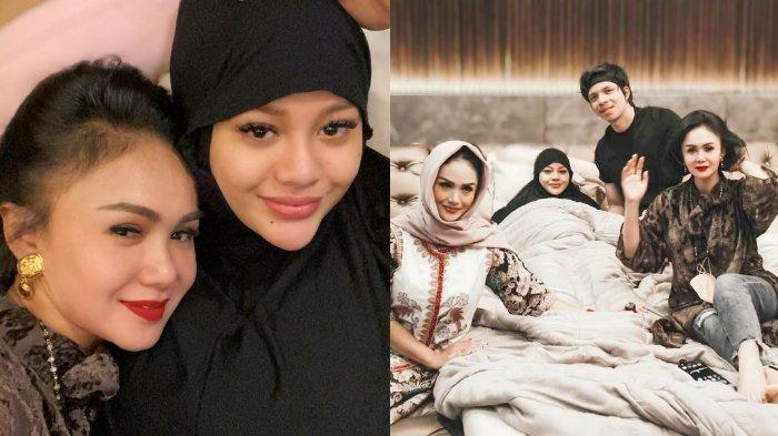 Jenguk Aurel Hermansyah yang Istirahat Total, Yuni Shara Minta Doa: Loly Sedang Berjuang Menjadi Ibu