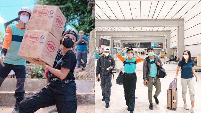 Awkarin Ceritakan Pengalaman Mistis Saat Jadi Relawan di NTT hingga Drone Tersangkut di Pohon