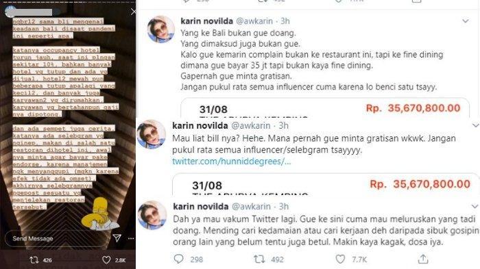 Awkarin klarifikasi namanya yang terseret rumor selebgram tak mau bayar makan di hotel Bali
