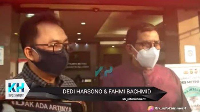 Ayah Askara Harsono, Dedi Harsono didampingi kuasa hukum, Fahmi Bachmid laporkan Nindy Ayunda ke polisi.