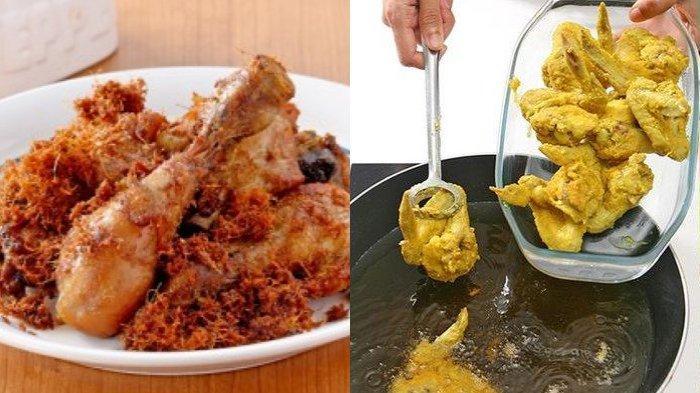 RESEP Memasak Ayam Goreng di Rumah, Ahli Gizi Bagikan Tips Pangkas Kalori Agar Tetap Langsing