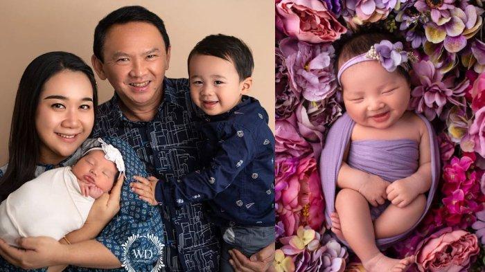 Cantiknya Babyborn Photoshoot Putri Ahok & Puput Nastiti, Yosafat Temani Adik Pakai Pakaian Adat