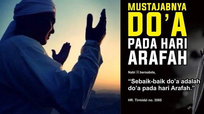 Bacaan doa dan dzikir di hari Arafah