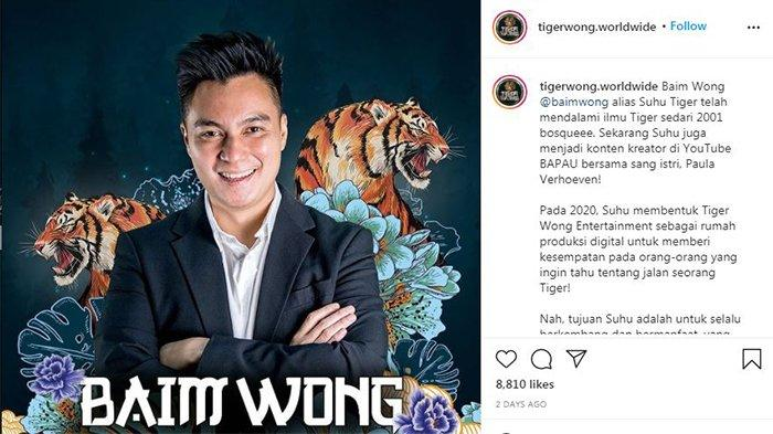 Baim Wong buka bisnis liquid