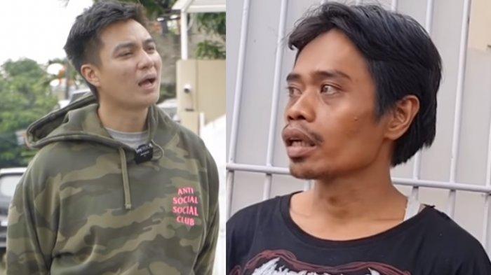 Baim Wong dan pria yang meminta-minta pekerjaan padanya