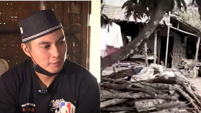 Tak Sampai Hati Pekerjanya Tinggal di Gubuk Reyot, Janji Baim Wong Renovasikan Rumah Disambut Tangis