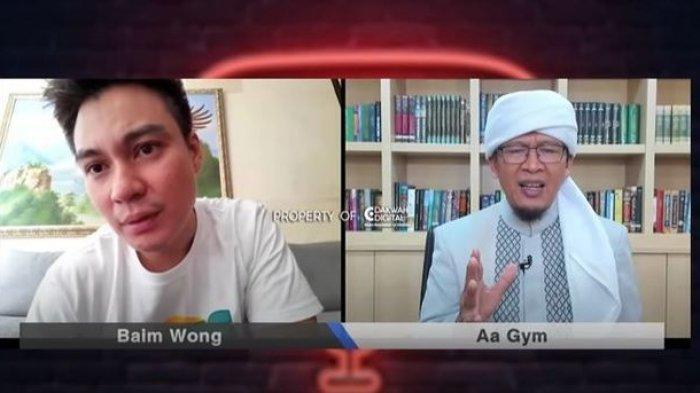 UCAPAN Aa Gym Mendadak Buat Baim Wong Takut, Suami Paula Verhoeven Pilih Berhati-hati: Jadi Tamparan