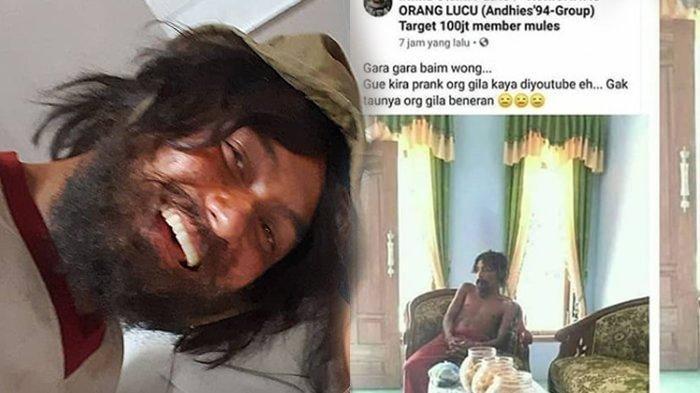 Orang yang Sambut Orang Gila di Rumahnya Viral, Baim Wong Beri Respon Mengejutkan