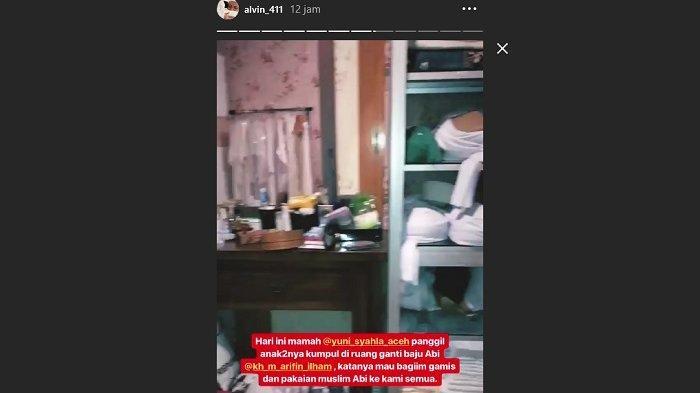 Baju Ustaz Arifin Ilham diwariskan ke anak-anak