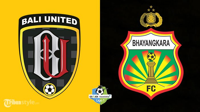 Live Streaming Bhayangkara FC vs Bali United 18.30 WIB - Duel Panas Juara & Runner-up Liga 1 2017!