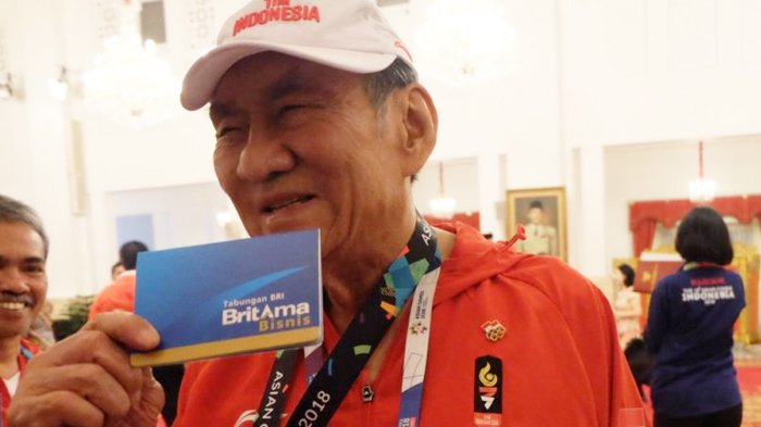 Jadi Atlet Tertua Asian Games 2018, Bambang Hartono Ungkap Rahasia Tetap Prima dan Tak Cepat Pikun