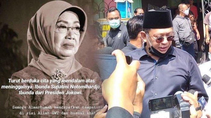 Cerita Bambang Soesatyo Mengenang Nasihat Ibunda Jokowi, Bertemu Terakhir Saat Selvi Ananda Lahiran