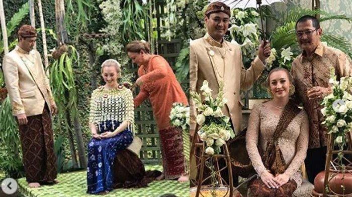 Bambang Trihatmodjo dampingi nujuh bulanan istri Panji Trihatmodjo, kemunculan Halimah curi perhatian