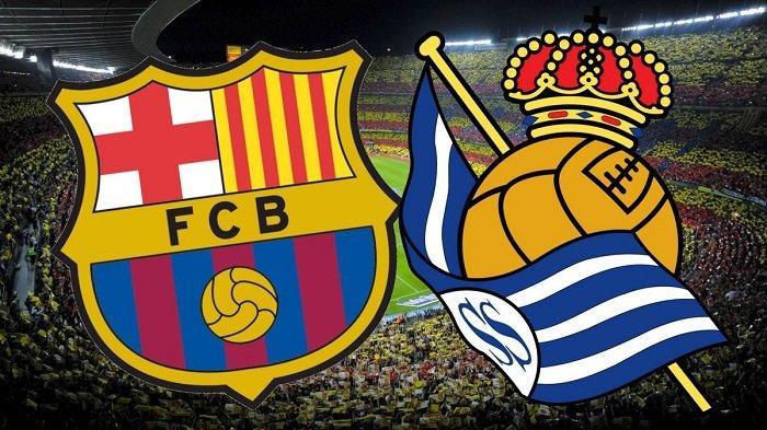 Prediksi dan Link Livestreaming SCTV Barcelona vs Real Sociedad, Persiapan Treble Winners Barca