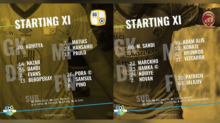 Live Streaming  Sriwijaya FC vs Barito Putera di vidio.com 20.30 WIB - Siaran Langsung Liga 1 2018