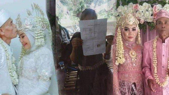 Baru 22 hari menikah, Abah Sarna kini tega jatuhkan talak cerai pada Noni