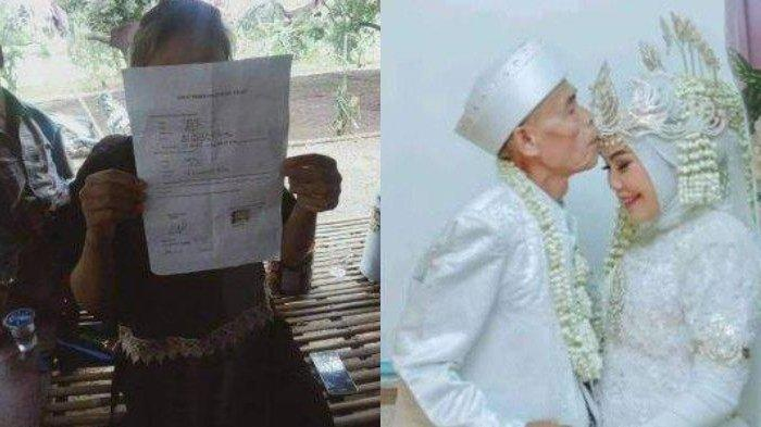 baru 22 hari menikah, Abah Sarna talak cerai Noni