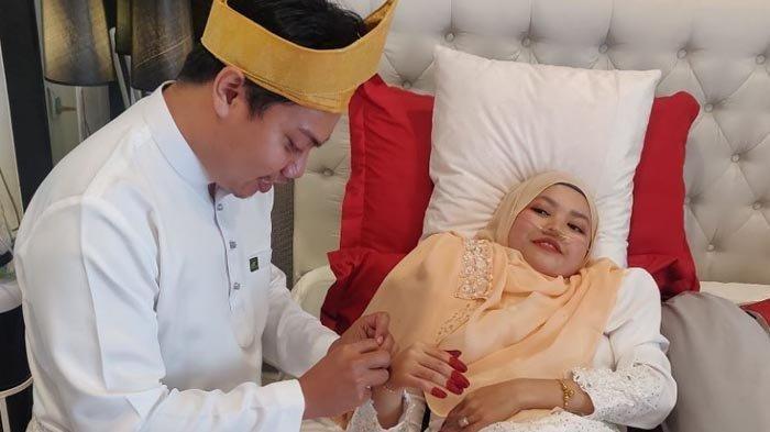 IDAP Kanker Darah Stadium 4, Pengantin Baru Meninggal, Suami Jadi Duda Padahal Baru 44 Hari Menikah