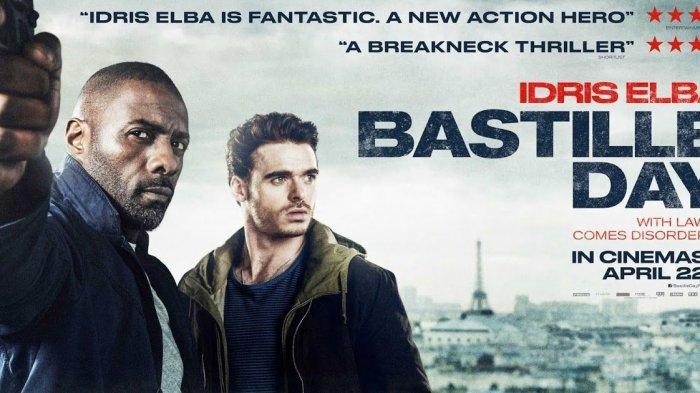 Bastille Day, tayang malam ini di Bioskop Trans TV.