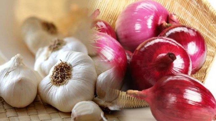Bawang putih dan bawang merah
