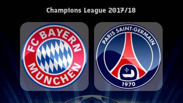 Live Streaming Bayern Munchen vs Paris Saint-Germain (PSG) - Target Balas Dendam di Liga Champions?
