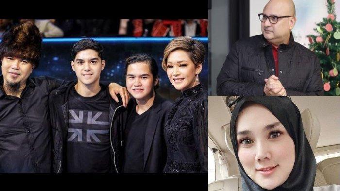 Beda Reaksi Irwan Mussry & Mulan Jameela Lihat Momen Ahmad Dhani & Maia Estianty di Indonesian Idol