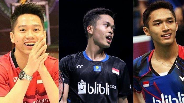 Begini Penampilan Ginting, Kevin Sanjaya & Jonatan Christie Jika Jadi PNS, Fotonya Jadi Sorotan Fans