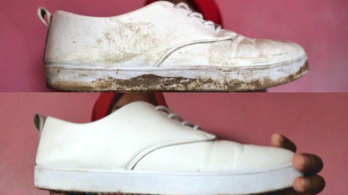 Cara Mudah Memutihkan Sepatu Dengan Bahan Rumahan, Langsung Bersih Seperti Baru