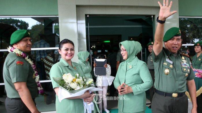 Kabar Terbaru Bella Saphira Setelah Diperistri Jendral TNI, Aktif dengan Kegiatan Ibu-Ibu Persit