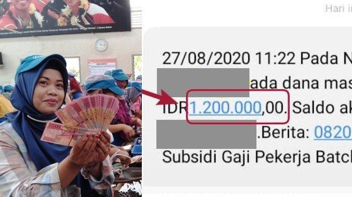 HORE! Subsidi Gaji Karyawan Rp 1,2 Juta Gelombang 2 Cair Hari Ini, Cek Rekeningmu!