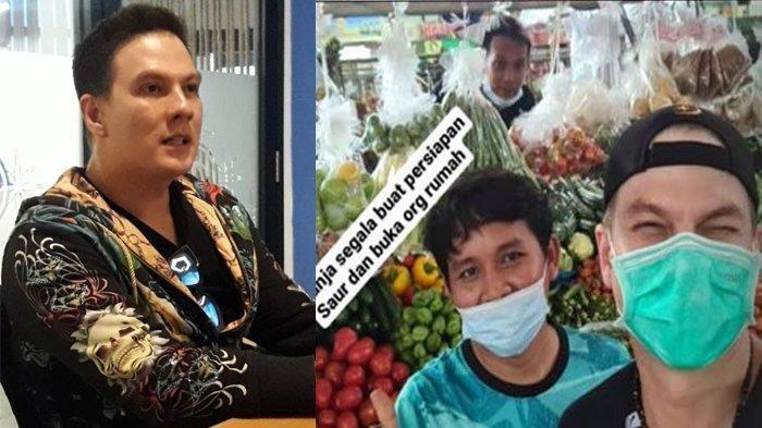 Non Muslim, Bertrand Antolin Rela ke Pasar Belanja Kebutuhan Selama Puasa Untuk Orang Rumah