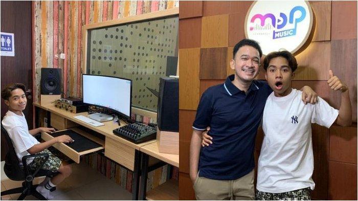 Karier Makin Moncer, Betrand Peto Semringah Dapat Studio Musik dari Ruben Onsu, Intip Potretnya!