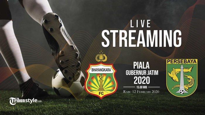 HASIL AKHIR Bhayangkara FC vs Persebaya Surabaya Piala Gubernur Jatim 2020: Bajul Ijo Keok 1-0