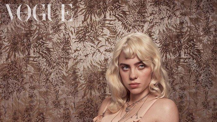 Biasa Berpakaian Longgar, Billie Eilish Tampil Beda di Cover British Vogue, Ada Pesan Tersembunyi
