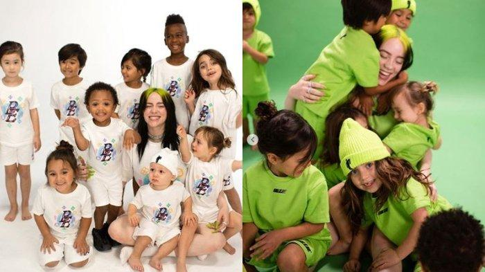 Penyanyi Billie Eilish Rilis Produk Pakaian untuk Anak-anak, Intip Koleksi Lucunya