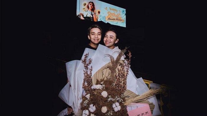 Potret kenangan Billy Syahputra dan  Amanda Manopo