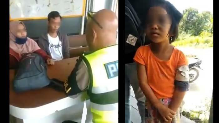 Bocah 5 Tahun Babak Belur Disiksa & Dibuang Ibu Kandung & Ayah Tiri di Warung, Polisi: Tega Sekali!