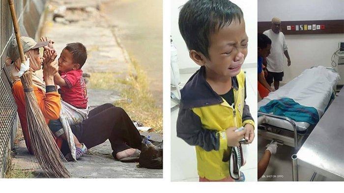 Viral, Anak Kecil Tangisi Jenazah Ibunya Setelah Jadi Korban Tabrak Lari di Hari Raya Idul Adha