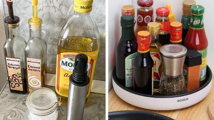 Botol di atas meja