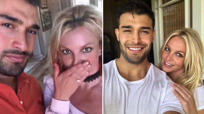 5 Tahun Pacaran, Britney Spears dan Sam Asghari Akhirnya Bertunangan, Cincin Berlian Curi Perhatian