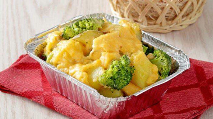 resep olahan ayam brokoli saus keju