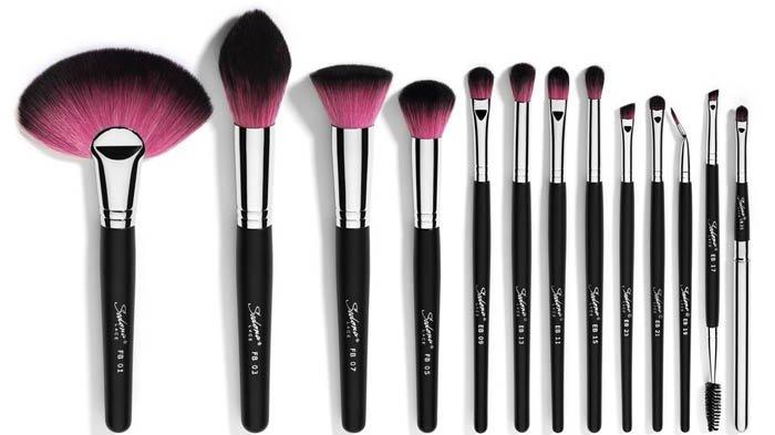 6 Jenis Make Up Brush yang Wajib Para Pemula Punya